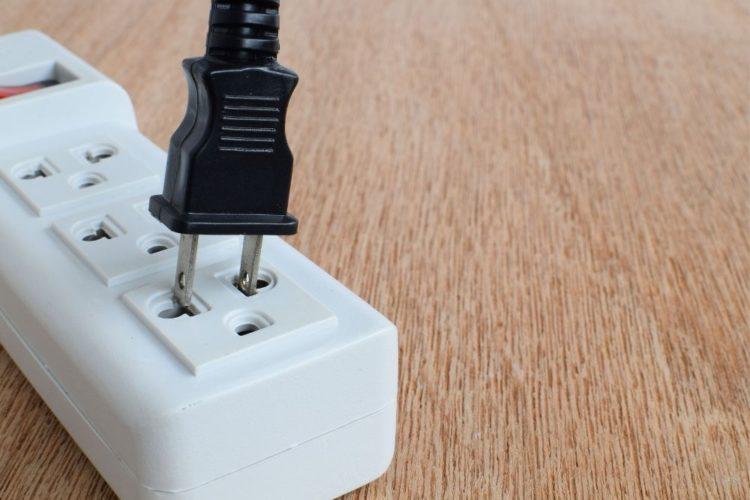 unplug a projector