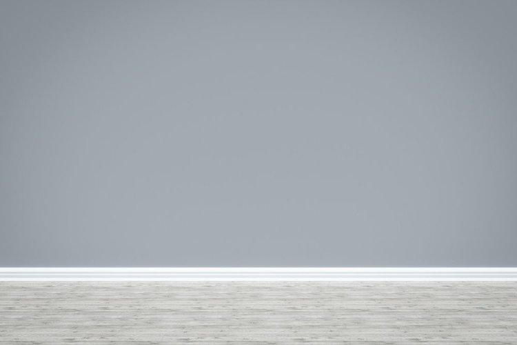 a grey wall
