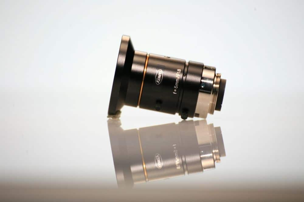 a replaced projector lens
