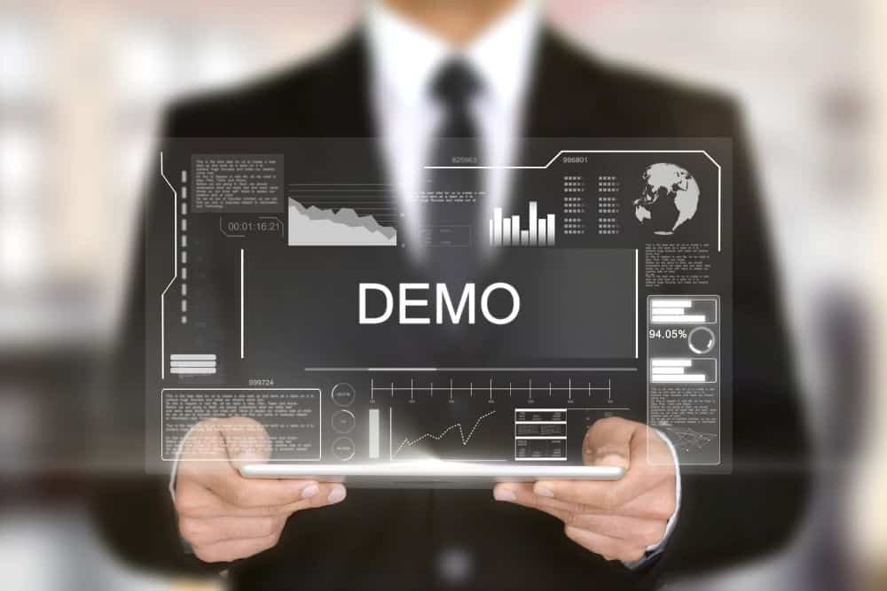 a technical product demo