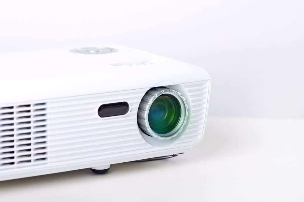 a used projector