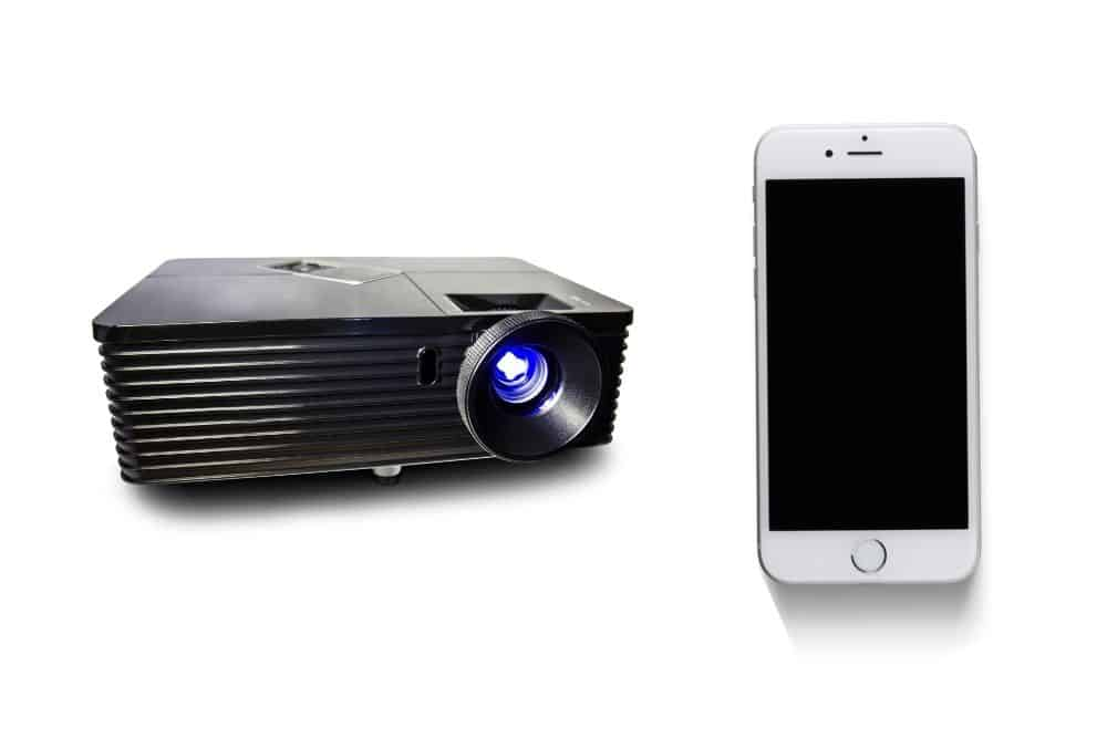 best outdoor projector to use with iPhone