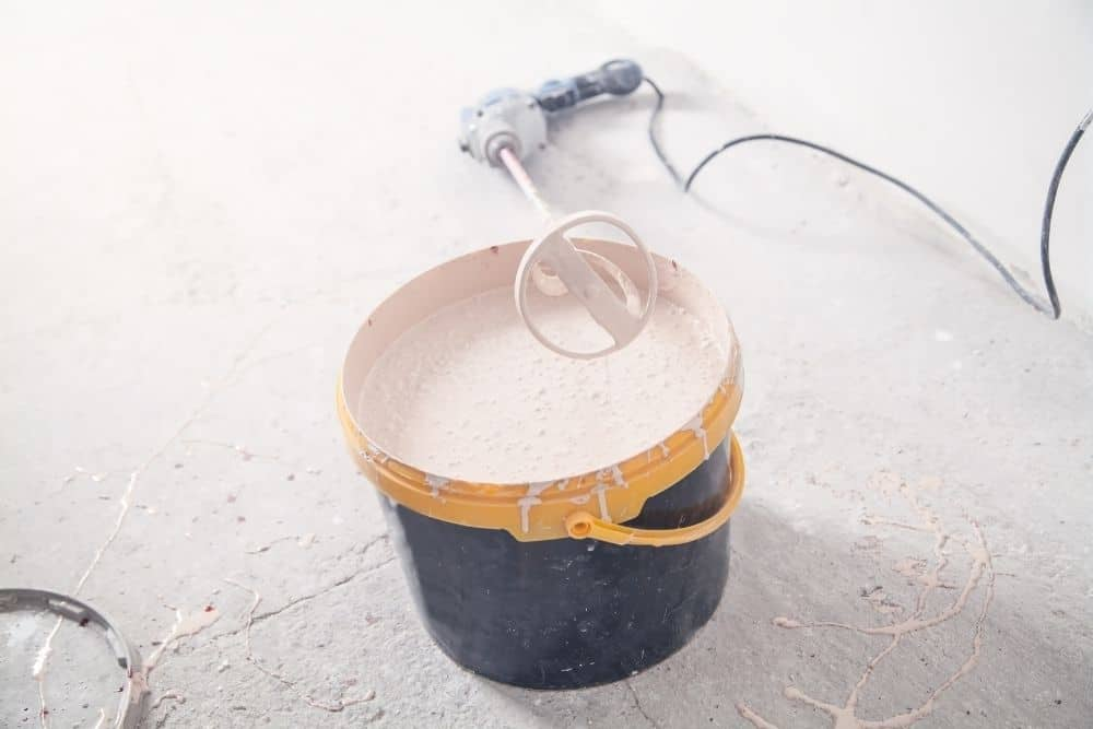 industrial mixer used to mix paint