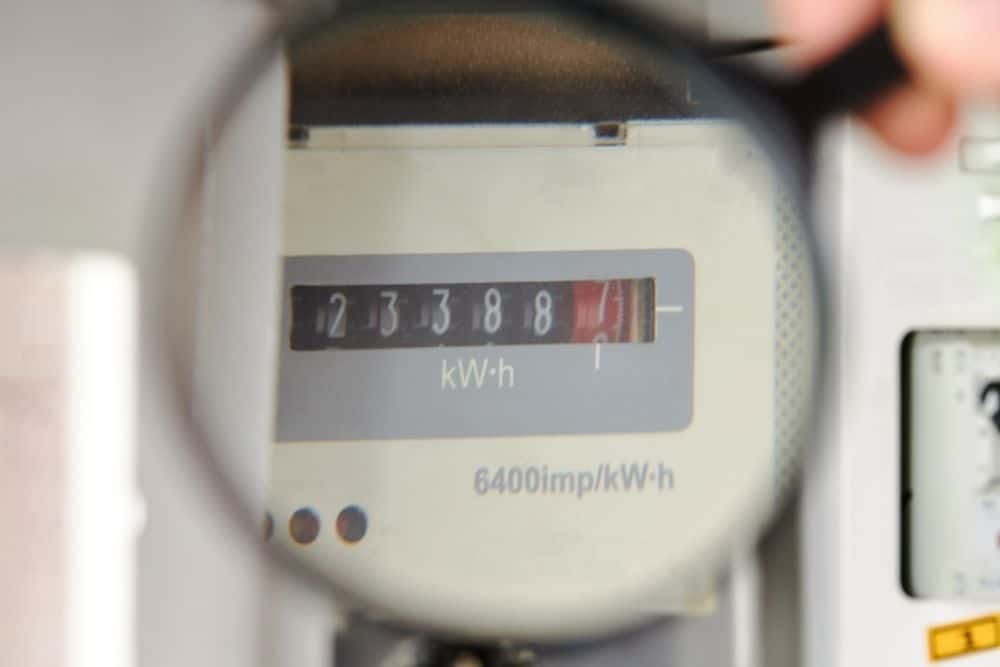 power consumption recorded