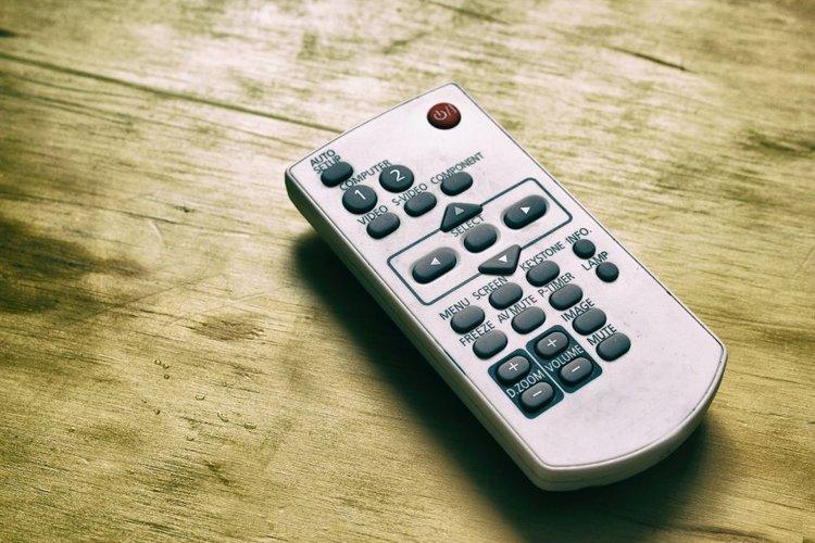 a projector remote control