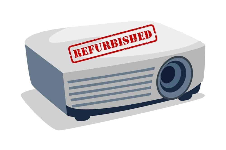 refurbished projector