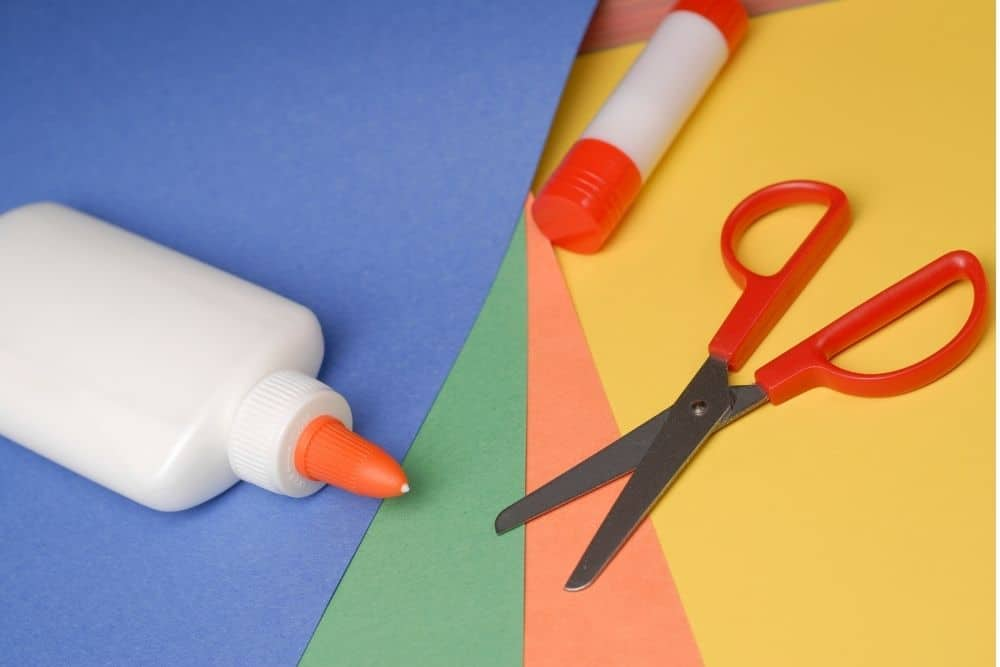 stationery used for DIY projects