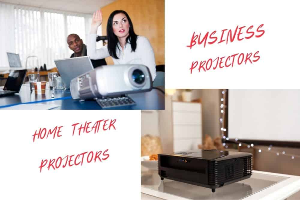 Business and home theater projectors