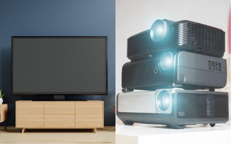 do projectors last as long as tvs