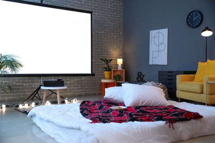 Watch projectors from bedrooms