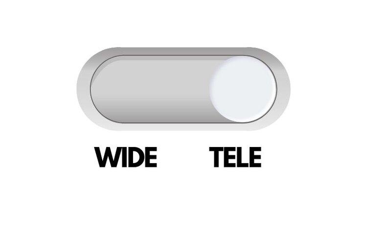 Wide Tele in Epson Projector