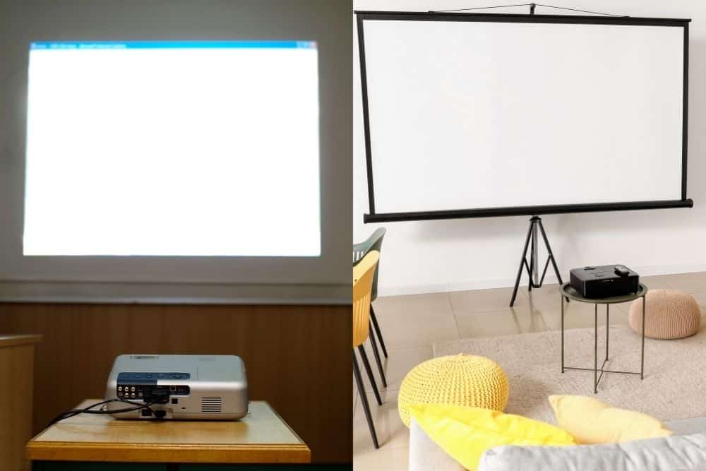 classroom vs. home theater projector