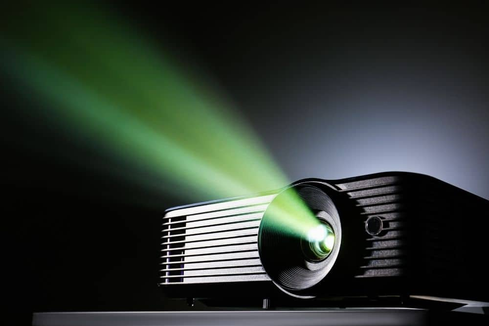 projector for a home theater