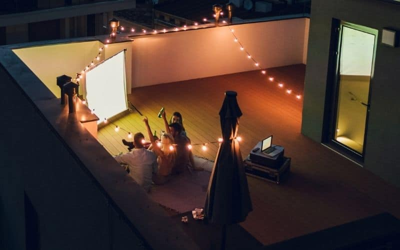 best budget projector for outdoor movies