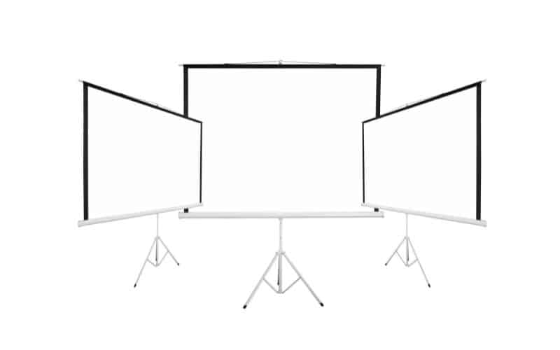 how big is a 150 inch projector screen