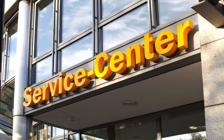 a service center