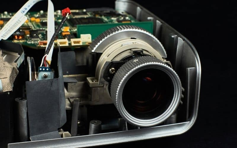 inside a projector