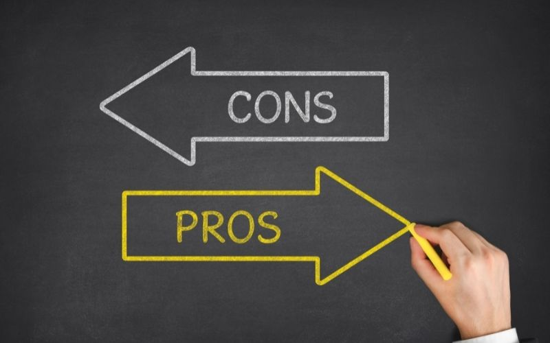 pros and cons label