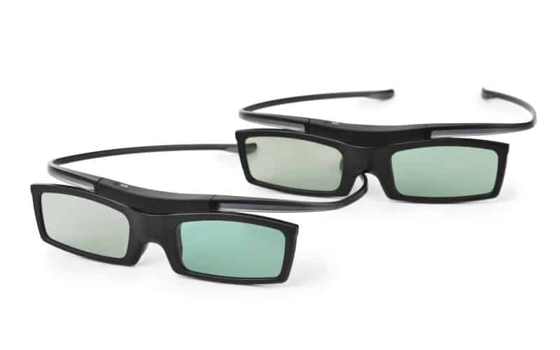 will samsung 3d glasses work with epson projector