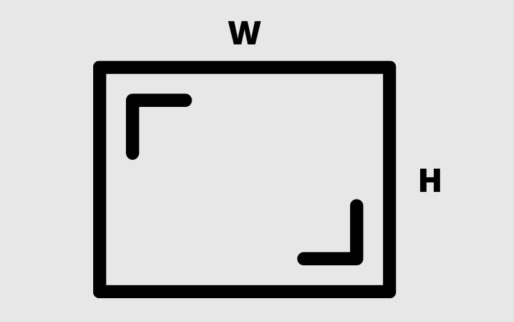 aspect ratio of a screen